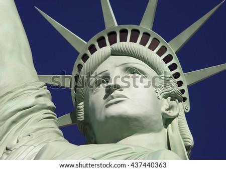 Statue liberty las vegas nevada usa stock photo 425387626 for Yard statues las vegas
