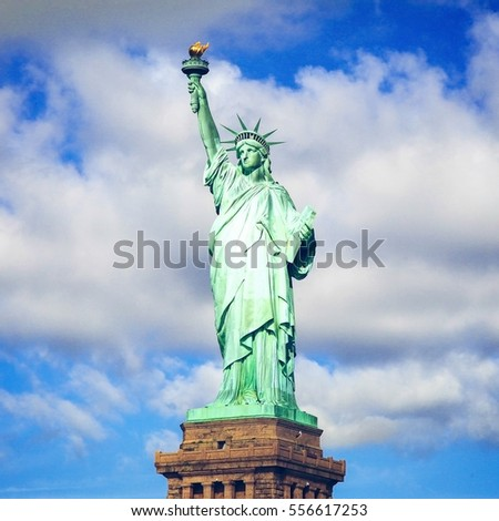 Statue of Liberty in New York City, United States