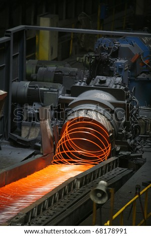 steel making in steel plant, turkey