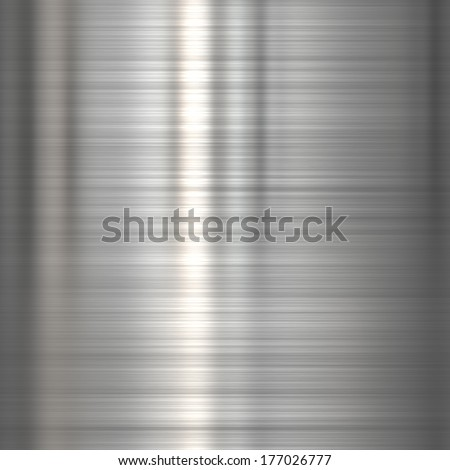 Steel metal background or texture with reflections