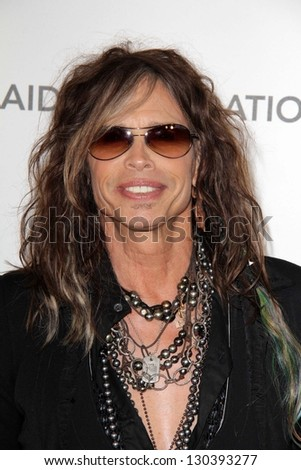 Steven Tyler at the Elton John Aids Foundation 21st Academy Awards Viewing Party, West Hollywood Park, West Hollywood, CA 02-24-13