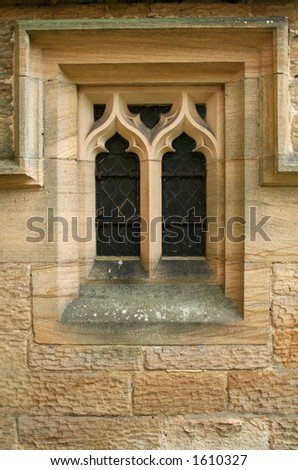 Stone Church Window