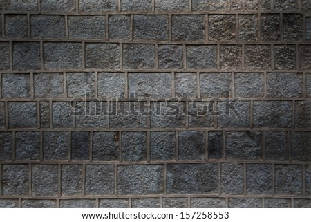 stone wall background, texture of masonry