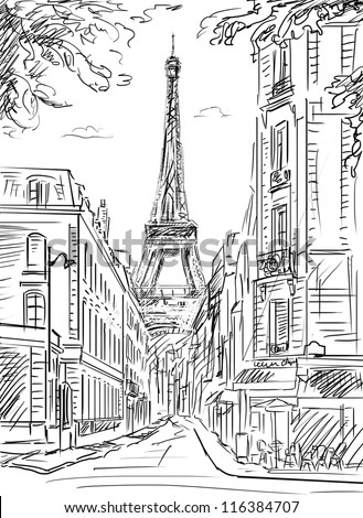street scene coloring pages - photo#4