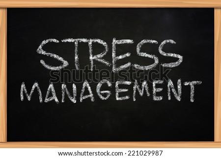 write essay stress management