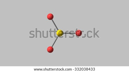 Sulfur trioxide is the chemical compound with the formula SO3. In the gaseous form, this species is a significant pollutant, being the primary agent in acid rain