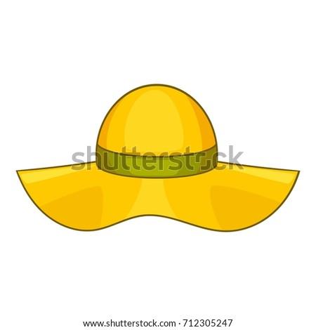 golden cowboy hat front view stock illustration 77532142