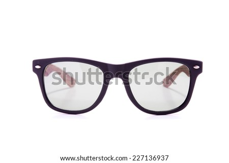 Sunglasses fasion isolated on white background. accessory object