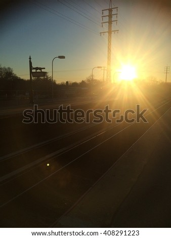Sunlight at the Station