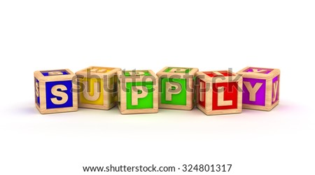Supply Play Cubes