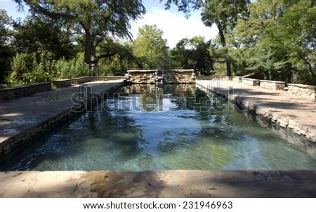 Long exposure rock creek park washington stock photo - Washington park swimming pool hours ...
