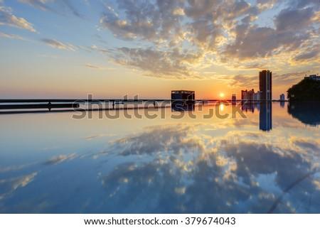 Boat Dock On Scenic Lakeshore Mountain Stock Photo 164274533 Shutterstock
