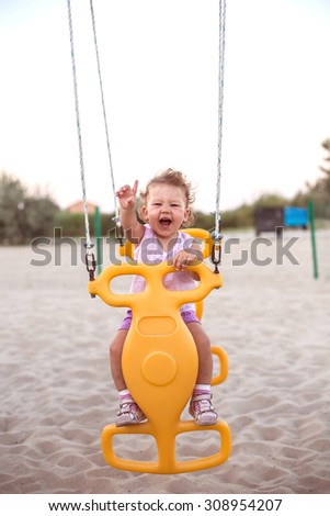 Swinging is fun
