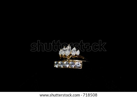 Symbols Love Marriage Commitment Stock Photo 718508 ...