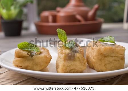 Tahu Goreng Tepung (Flours Coating Fried Tofu) - Karin's ...