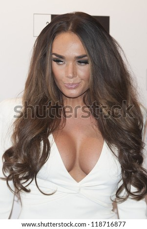 Tamara Ecclestone arriving for the Grey Goose Ball 2012, Battersea Power Station, London. 10/11/2012 Picture by: Simon Burchell