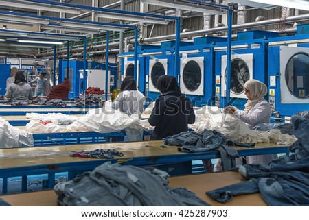 Tangier, Morocco-April 18,2016: