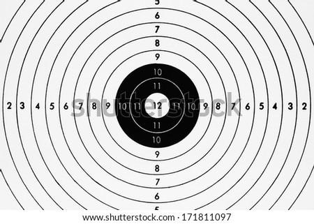 bullseye chart template - blank template sport target shooting competition stock