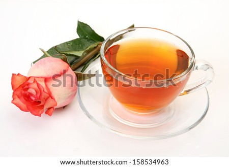 Tea and flower