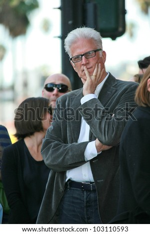 Ted Danson  at the induction ceremony for Mary Steenburgen into the  Hollywood Walk of Fame, Hollywood Blvd., Hollywood. CA. 12-16-09