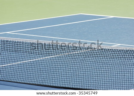 Tennis hard court