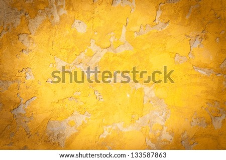 texture of a orange cement with vignetting added