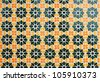Texture of Arabic tile Background - stock photo