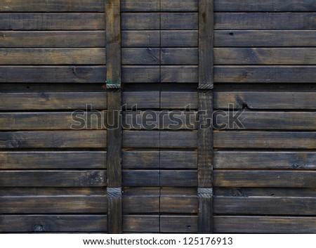 Texture of old wooden pallets