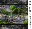 texture walls mold moss and cobwebs background your message wallpaper - stock photo