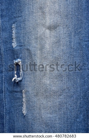 textures ripped jeans
