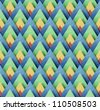 Thai Abstract Pattern papercraft  Background - stock photo