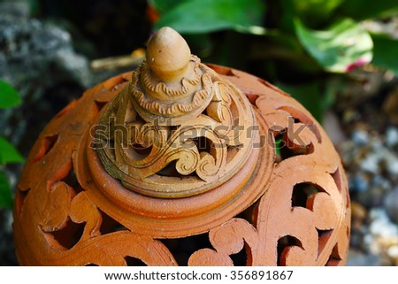Thai Earthenware at nonthaburi province