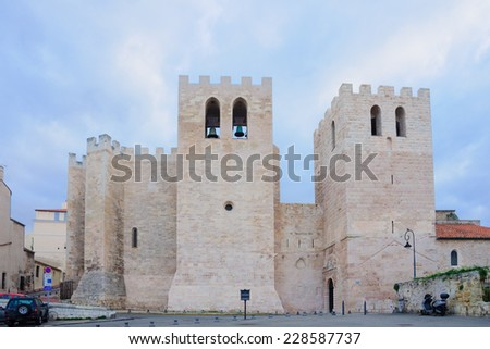 The Abbaye St. Victor, in Marseilles, France