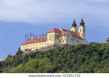The Abbey of Tihany in Hungary