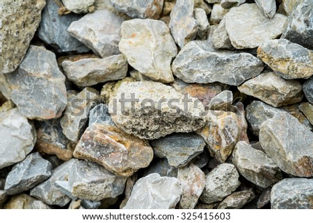The background image of the gravels