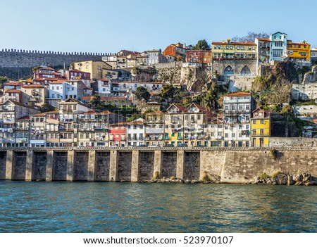 The bank of the River Douro - Porto, Portugal