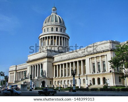 The Capitol of Havana, Cuba