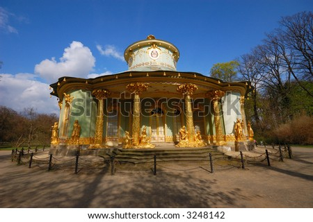 The Chinese House in Sanssouci Park