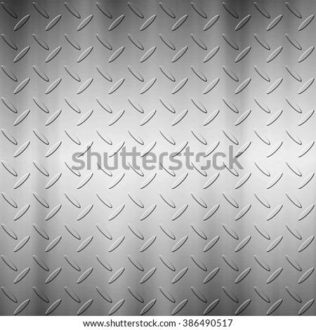The diamond plate background for design work