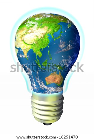The Earth - green eco energy - A'asia