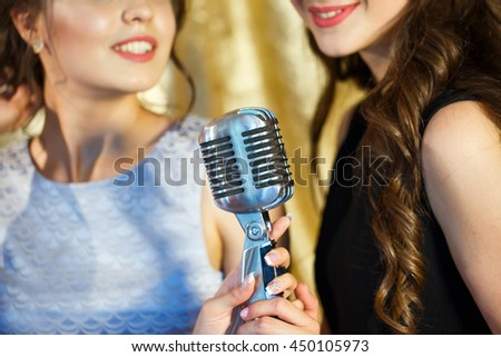 singing the girl retro - photo #35