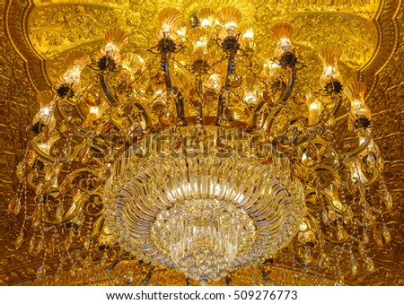 Florence Italy November 4 2016 Ceiling Stock Photo