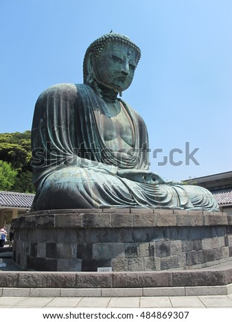 The Great Buddha of Japan.