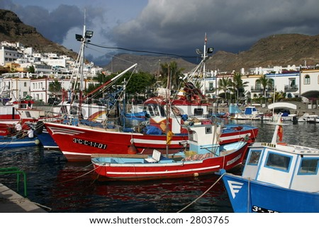 The Harbour at Puerto de Mogan
