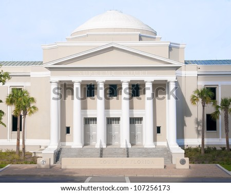 The historic Supreme Court Building in Tallahassee, Florida,