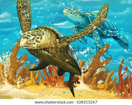 Sea Turtle Drawings And Tatoos Sea Turtle