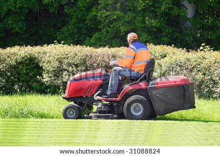the image of mow the lawn