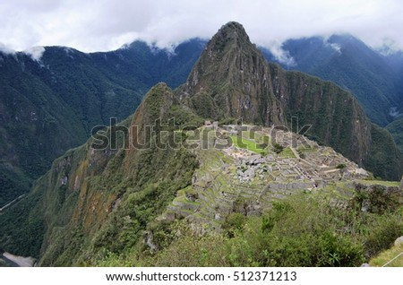 The lost city of the Inca in the Andean mountain of Peru.  Machu Picchu is every hiker's dream destination.