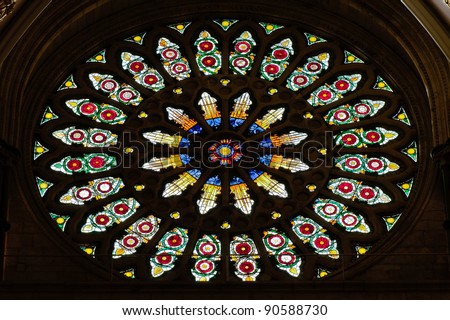 Rose window stock photos images pictures shutterstock for Rose window york minster