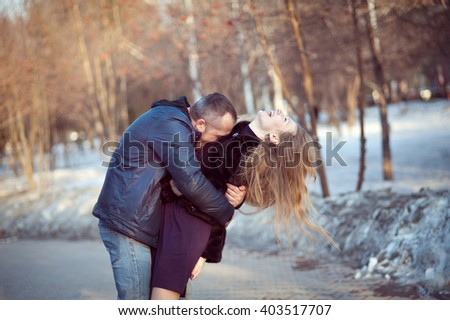 When A Man Hugs A Woman Tightly
